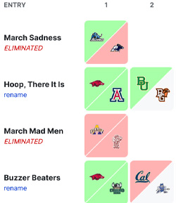 March Madness All Members Picks